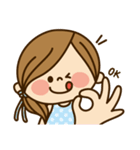 かわいい主婦の1日【日常編2】(個別スタンプ:01)