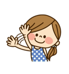 かわいい主婦の1日【日常編2】(個別スタンプ:05)