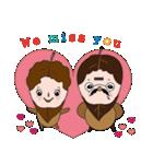 ティー夫婦の日常生活日誌(個別スタンプ:01)