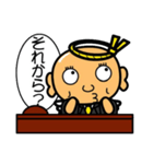 駄天使 おちょぼ 3(個別スタンプ:12)