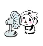 パンダinぱんだ ~夏~(個別スタンプ:01)