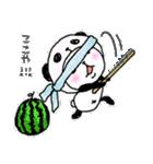 パンダinぱんだ ~夏~(個別スタンプ:04)