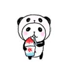 パンダinぱんだ ~夏~(個別スタンプ:13)