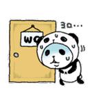 パンダinぱんだ ~夏~(個別スタンプ:16)