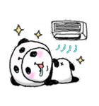 パンダinぱんだ ~夏~(個別スタンプ:18)