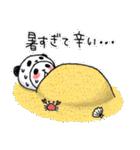 パンダinぱんだ ~夏~(個別スタンプ:21)