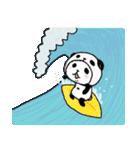 パンダinぱんだ ~夏~(個別スタンプ:23)