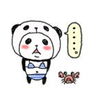 パンダinぱんだ ~夏~(個別スタンプ:24)