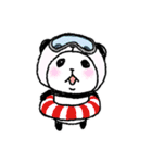 パンダinぱんだ ~夏~(個別スタンプ:25)