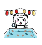 パンダinぱんだ ~夏~(個別スタンプ:29)