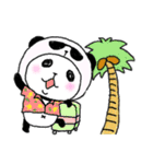 パンダinぱんだ ~夏~(個別スタンプ:39)