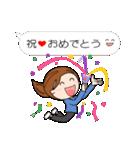 スポーツ応援ママ (日本語版)(個別スタンプ:13)