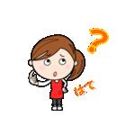 スポーツ応援ママ (日本語版)(個別スタンプ:28)