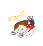 スポーツ応援ママ (日本語版)(個別スタンプ:37)