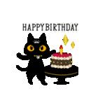 黒猫アンティークⅡ(個別スタンプ:39)