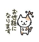 丁寧語なネコちゃま(個別スタンプ:17)