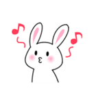 あいまいウサギ(個別スタンプ:39)
