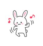 あいまいウサギ(個別スタンプ:40)