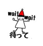 三角帽子のノーム(個別スタンプ:2)