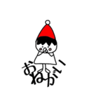 三角帽子のノーム(個別スタンプ:18)