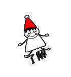 三角帽子のノーム(個別スタンプ:31)