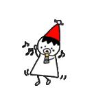 三角帽子のノーム(個別スタンプ:38)