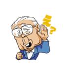 野村克也・沙知代夫妻のカップルスタンプ(個別スタンプ:14)