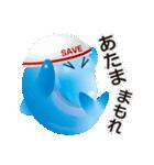 イルカルカ (地震天気等 連絡スタンプ)(個別スタンプ:09)