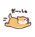 ころころ柴犬(個別スタンプ:34)