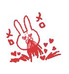 止まる事を知らない愛 ~舞う鼻血~(個別スタンプ:08)