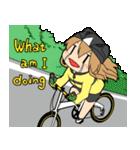 サイクリングスタンプ自転車好きな人向けV3(個別スタンプ:08)
