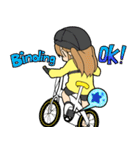 サイクリングスタンプ自転車好きな人向けV3(個別スタンプ:15)