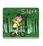 サイクリングスタンプ自転車好きな人向けV3(個別スタンプ:23)