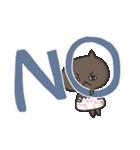 いろんな「OK」と「NO」(個別スタンプ:03)
