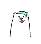 フサフサマユゲのしろくまさん ママ版(個別スタンプ:39)
