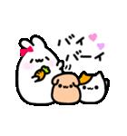Merry家 ぽっちゃりうさぎとネコと犬(個別スタンプ:40)