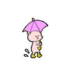小さい桃色くま(個別スタンプ:27)