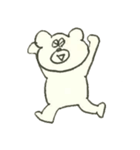 デイリーライフくまさん(クラフト編)(個別スタンプ:1)