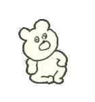 デイリーライフくまさん(クラフト編)(個別スタンプ:2)
