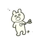 デイリーライフくまさん(クラフト編)(個別スタンプ:6)