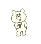 デイリーライフくまさん(クラフト編)(個別スタンプ:12)