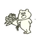 デイリーライフくまさん(クラフト編)(個別スタンプ:37)
