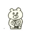 デイリーライフくまさん(クラフト編)(個別スタンプ:38)