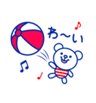 ☆マリンくま★(個別スタンプ:32)