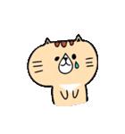 フサフサマユゲのネコさん(個別スタンプ:10)