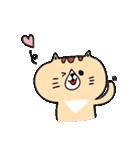 フサフサマユゲのネコさん(個別スタンプ:11)