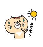 フサフサマユゲのネコさん(個別スタンプ:27)