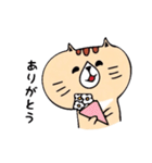 フサフサマユゲのネコさん(個別スタンプ:29)