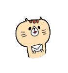 フサフサマユゲのネコさん(個別スタンプ:33)