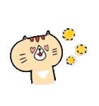 フサフサマユゲのネコさん(個別スタンプ:38)